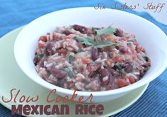 Slow cooker mexican rice Good quick and easy solution for dinner - six sisters stuff