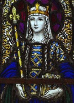"St Margaret , Queen of Scotland,called"" the Pearl"" of Scotland,was born in Hungary in 1045 of the house of Wessex.She died on the 16th Nov 1093.In Scotland her annual pilgrimage on the 12th June to celebrate her life is in Dunfermline.Prior to the 20th century her feast day was in June but was moved to the 16th Nov the day she died."