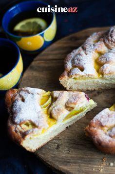 Ce gâteau aux pommes et au citron est une pâtisserie facile à préparer au Thermomix. #recette#cuisine#gateau #pomme #citron#patisserie #robot #robotculinaire #thermomix