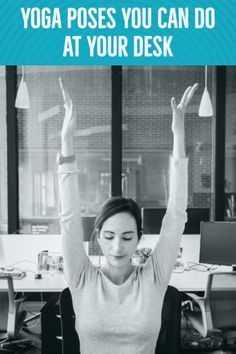 11 easy stretches you can do at your desk to avoid lower back pain and shoulder hunches.