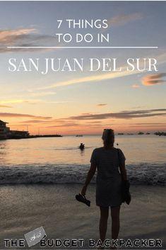 things to do in san juan del sur - pinterest
