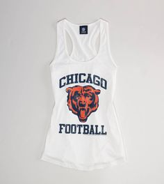 whatever will I do when they play the SAINTS? Who dat! Chicago Football, Chicago Bears, Bears Football, Sport Football, Sport Outfits, Cute Outfits, Swagg, Just In Case, Style Me