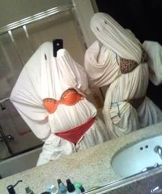 Lmfao slutty ghost costume!!!