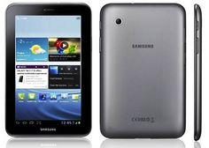 A Samsung é uma marca importante no mercado de smartphones e tablets, e por essa razão é uma das mais procuradas. Como primeira opção está o Galaxy Tab 2 com um design ultrafino. Possui processador dual-core de 1GHz, 1 GB de RAM e sua conexão com a internet é possível apenas através do Wi-Fi. Seu sistema operacional é o Android 4.0.