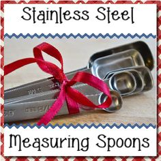 Royalegacy Reviews and More: Champagne Kitchen Stainless Steel Measuring Spoons - #Review & #Giveaway - ends 4/20 US