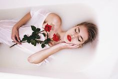 Rose bath by thefirebomb Jovana Rikalo Photography / People & Portraits / Fashion Portraits © 2014