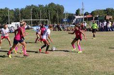 Torneo de fútbol femenino en San Isidro