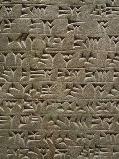 larameeee:Cuneiform the invention of writing