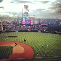 Colorado Rockies Baseball, Coors Field. Denver, CO - On my wish list to see a Rockies game :)