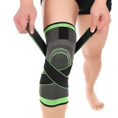 d7ffbedaa4 3D weaving pressurization knee brace basketball tennis hiking cycling knee  support professional protective sports knee pad //Price: $18.00 & FREE  Shipping ...