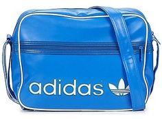 adidas Originals ADICOLOR AIRLINE BAG Blue / White