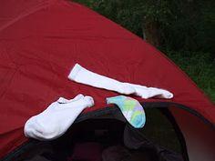 Camping Fun - Silly Secret Sock Fun
