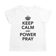 Keep Calm and Power Pray Women's All Over Print T-> Keep Calm and Power Pray> Victory Ink Tshirts and Gifts