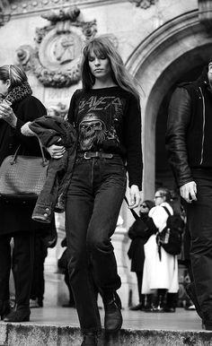 On the Street…..Steps of the Paris Opera, Paris