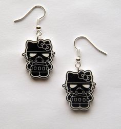 Hello Kitty meets Darth Vader at Etsy