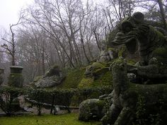 The Garden of the Monsters in Italy is a sixteenth century sculpture park created by a former mercenary grieving the loss of his wife.