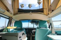 cooking in the van with the top popped and the ocean breeze blowing in - it's so good