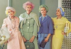 This will be when I'm little old lady....Pretty in pink -- San Francisco brightens up with bold hair color | Edo Salon: little spark of inspiration