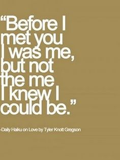 Sayings; Be this for some one.
