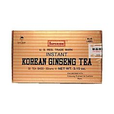 how to prepare korean red ginseng tea