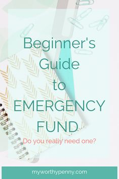 This post provides infomation about how to start an emergency fund. It provides tips and reasons why everyone should have an emergency fund. Budgeting Finances, Budgeting Tips, Setting Up A Budget, Finance Organization, Organizing, Frugal Tips, Do You Really, Money Saving Tips, Managing Money