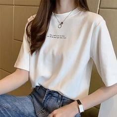 Korean Casual Outfits, Cute Casual Outfits, Korean Summer Outfits, Modest Outfits, Teen Girl Fashion, Korean Girl Fashion, Korean Fashion Summer Street Styles, Kpop Fashion Outfits, K Fashion Casual