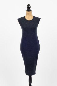 Nautical Chic Navy Blue Dress