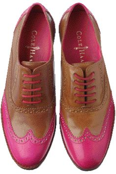 I just love the way these Cole Haan Men's pop. This Seasons Air Sole base includes a splash of Pink... Way to be both stylish & comfortable in 2012 #TeamNike/ProFashional