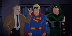 Justice League Switch Identities in New Justice League Action Clip