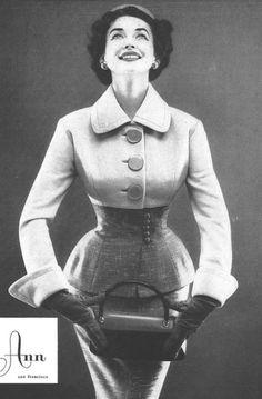 1954 suit, Lilli Ann.