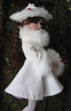 Ellowyne Wilde Doll Prudence Christmas Card by ChicoStudios, $3.00