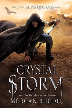 Exclusive Cover Reveal: Crystal Storm (#5, Falling Kingdoms) by Morgan Rhodes #CrystalStorm
