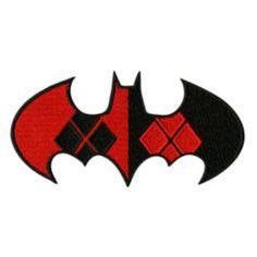 Harley Quinn/Batman symbol