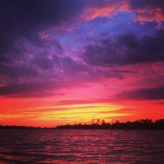 Indigo, Purple, Pink, Red, Orange, Yellow  sunset-over-the-birdsville-billabong.jpg (960×960)