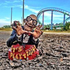5) Abandoned Six Flags Amusement Park, New Orleans