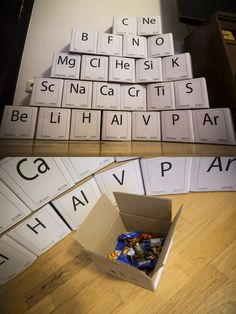 Der ultimative Adventskalender für alle Chemie Nerds The ultimate Advent calendar for all chemical Nerds #Periodensystem #PSE #periodic table