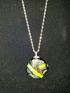 Unique glass pendant