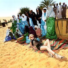 Gorana Relic, Miss Net Croatia in Libya by Muir Vidler