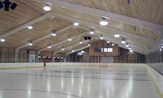 the money to keep up an ice rink like this on your own is a pretty penny.