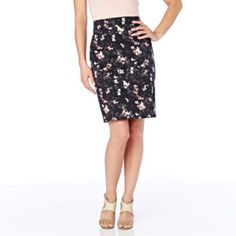 JESSICA®/MD Women's Sateen Pencil Skirt - Sears | Sears Canada