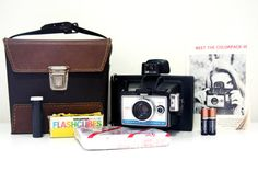 working Polaroid Colorpack 3 camera complete kit  by HOLGAHOJAN, $75.00