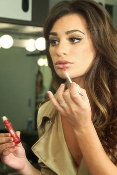Get a sneak peek behind the scenes on Lea Michele's brand new L'Oreal campaign