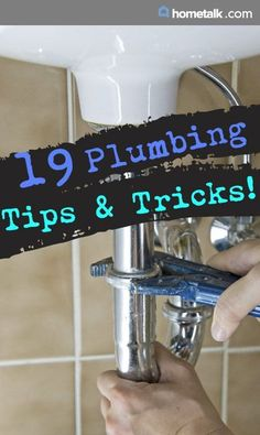 Amazing plumbing tips and tricks!