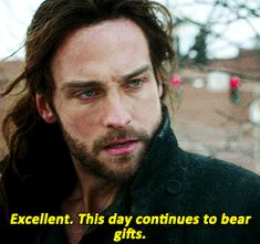 Can Tom Mison be my Gift?