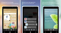 UC Browser update Lumia WP smartphones   An update is available for UC Browser browser, which is more than 400 million users, cross-platform distributed across more than 150 countries and regions - 3.3.1.371.