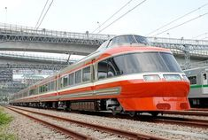 High-speed (but not ultra-fast) train in Japan.