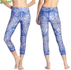 #Brilliant - Woman's Leggings ... from Gym Fanatics. Get yours at http://gymfanatics.co.za/products/womans-leggings-mid-calf-blue-white-owl?utm_campaign=social_autopilot&utm_source=pin&utm_medium=pin today.