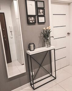 Entrance Hall Decor, My Room, Entryway Tables, Home And Garden, House Design, Doors, Living Room, Inspiration, Furniture