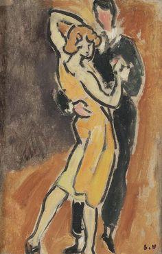 The Tango. Louis Valtat