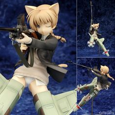 Strike Witches 2 - Lynette Bishop 1/8 Complete Figure